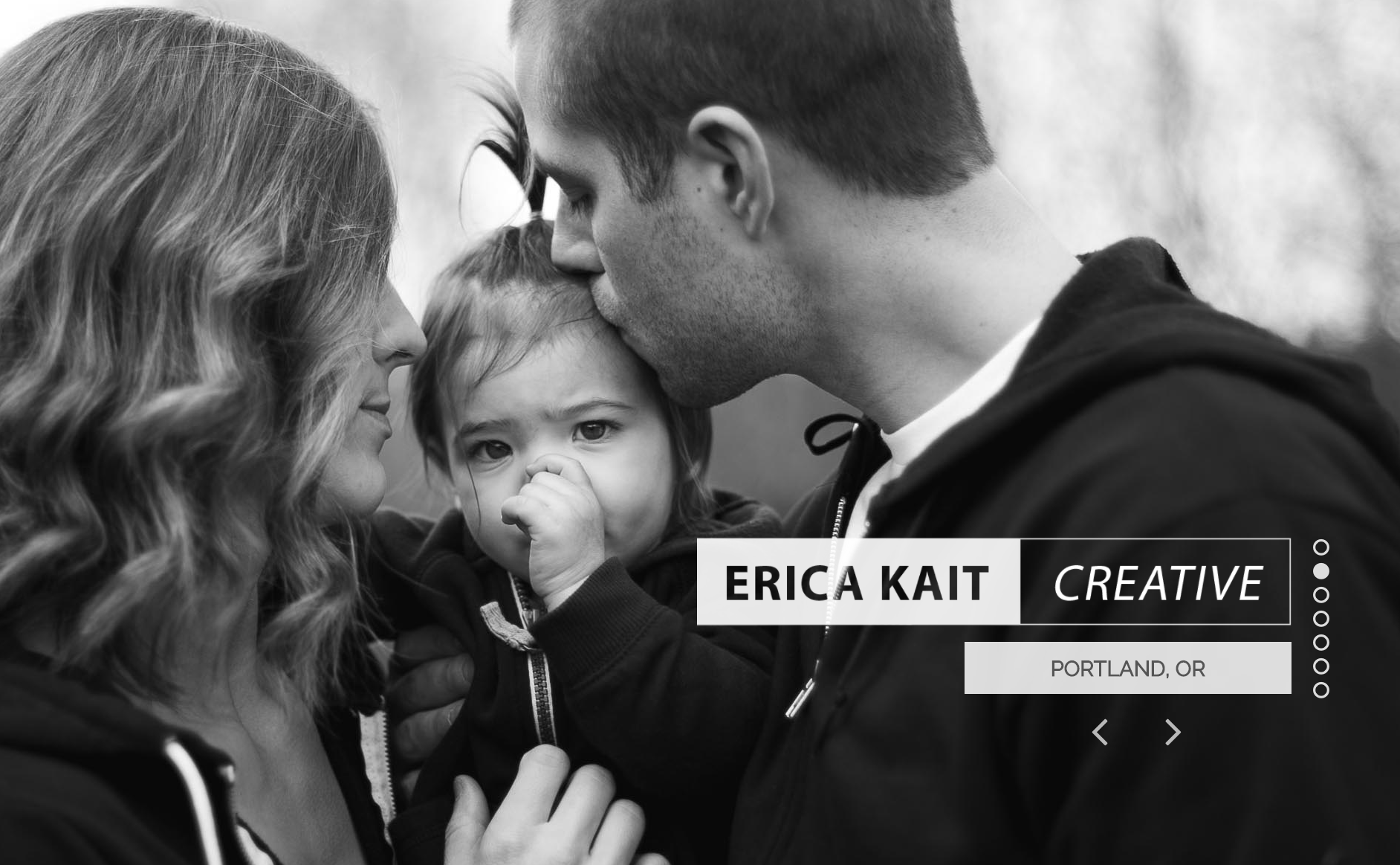 Erica Kait Creative website cover image
